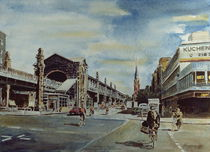 Türkischer Bazar by Heinz Sterzenbach