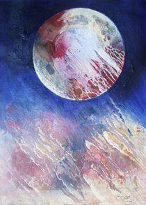 VU 133 Planet in Auflösung by Heinz Sterzenbach