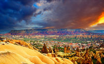 Göreme - cave town of the early Christians. Central Turkey by Yuri Hope