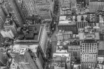 Manhattan New York black and white by wamdesign