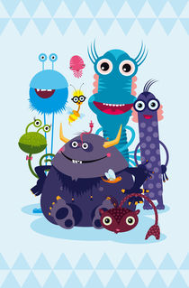 Monster-Crew by Pia Kolle