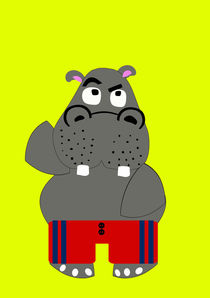 Hippo by lescapricesdefilles