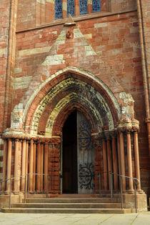 Portal of St. Magnus, Kirkwall von Sabine Radtke