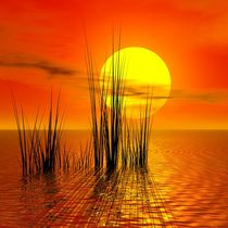 Sonnenuntergang von Gabi Siebenhühner