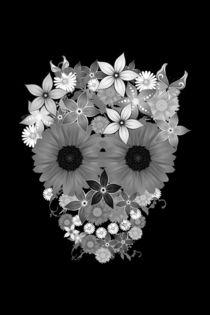 Skull flowers von wamdesign