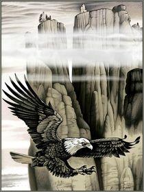 Der Adler und der Felsen von Konstantin Beider