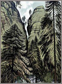 Die Felsen by Konstantin Beider