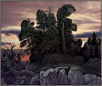 Abend in Gebirgen  by Konstantin Beider