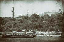 Im Hafen von vintage-art