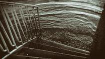 Treppe ins Wasser von vintage-art