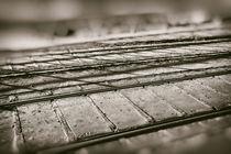 Schienenverlauf von vintage-art