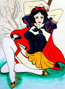 SNOW WHITE by Nora Shepley