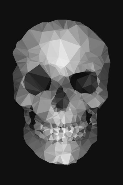 Polygons-skull-b