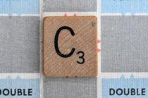 Scrabble C by Jane Glennie