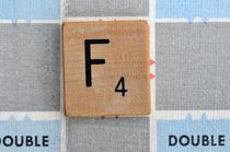 Scrabble F von Jane Glennie