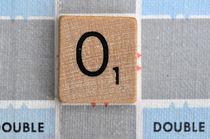 Scrabble O von Jane Glennie