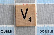 Scrabble V by Jane Glennie