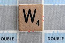 Scrabble W by Jane Glennie