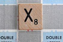 Scrabble X by Jane Glennie