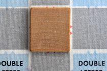 Scrabble blank by Jane Glennie
