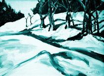 Winterlandschaft II von Eberhard Schmidt-Dranske