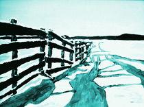 'Winterlandschaft I' von Eberhard Schmidt-Dranske