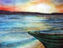 Skandinavische Landschaft by Irina Usova