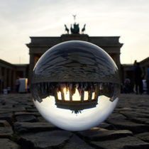 Sonnenuntergang am Brandenburger Tor, Berlin  by Ralf Schröer