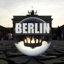 BERLIN Brandenburger Tor, Brandenburg Gate sunset by Ralf Schröer