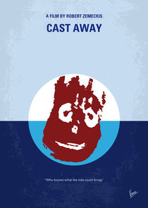 No718 My Cast-Away minimal movie poster von chungkong