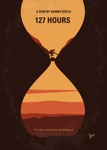 No719 My 127 Hours minimal movie poster by chungkong