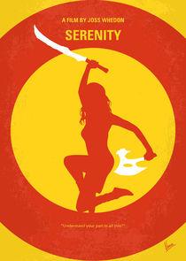 No722 My Serenity minimal movie poster von chungkong