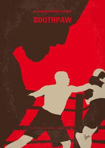 No723 My Southpaw minimal movie poster von chungkong
