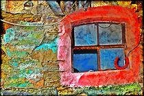 Colorful Wall Window by Sandra  Vollmann