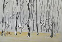 Winterlandschaft von Theodor Fischer