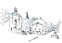Dieulefit, prot. Kirche von Theodor Fischer