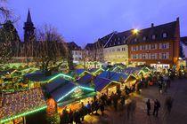 Weihnachtsmarkt Freiburg von Patrick Lohmüller