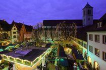 Freiburger Weihnachtsmarkt von Patrick Lohmüller