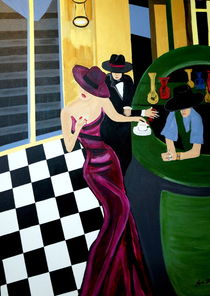 BAR SCENE by Nora Shepley