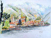 Lago di Garda von Theodor Fischer