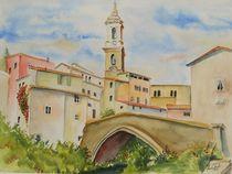 Dolcedo, Ligurien by Theodor Fischer