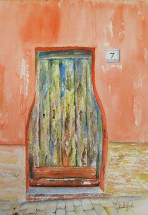 Alte Tür in Moltedo von Theodor Fischer