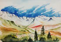Monte Rosa by Theodor Fischer