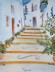 Frigliana, Andalusien von Theodor Fischer