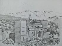 Alhambra, Granada by Theodor Fischer