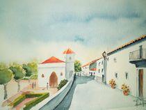 Mora, Fischerdorf an der Costa del Sol von Theodor Fischer