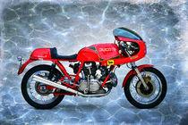 Ducati 900SS Königswelle PHOTOART 1.02 von Ingo Laue