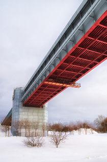 Winter. City. Bridge von mnwind