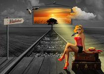Der Traum nach Urlaub und Sonne by Monika Juengling