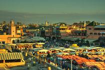 The marketplace of Marrakesh,  von Rob Hawkins